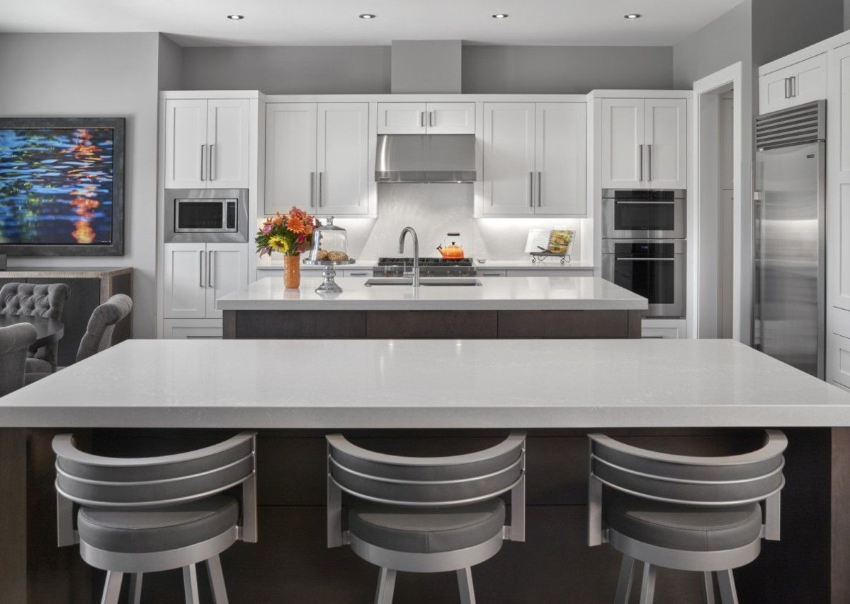 White Shaker Cabinets by Sollera - Cabinets of the Desert